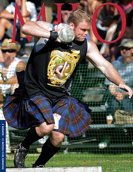 If there are any turfing battles in the world of Highland Games, Dan McKim made a quiet but powerful statement with his actions: he'd win anywhere, anyway.  IronMind® | Randall J. Strossen photo