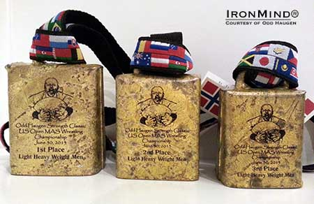"""The top three athletes in each weight division in the 2013 US Open Mas Wrestling Championships will receive an authentic Norwegian cowbell as a 'medal',""  OddE told IronMind.   IronMind® 