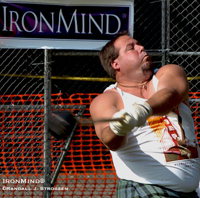 "Field judges, move back! Photographers, grab longer lenses! Word has it that Ryan Vierra is bring some ""real flyers"" to Pleasanton, California this weekend for the 143rd Annual Scottish Highland Games, presented by the Caledonian Club of San Francisco. IronMind® 