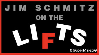 Among his credentials, Jim Schmitz is a three-time coach of the USA Olympic weightlifting team, so when he talks about weightlifting, it's time to listen. Logo courtesy of IronMind® Enterprises, Inc.