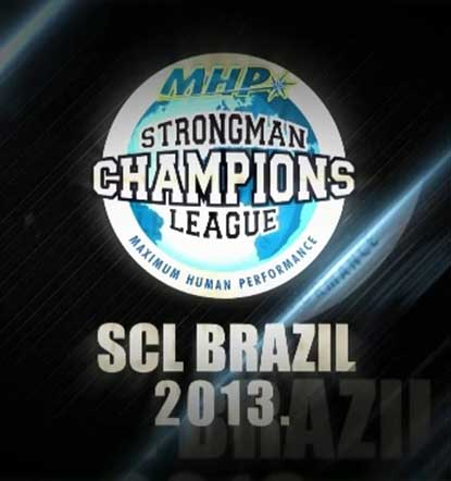 Watch for MHP Strongman Champions League Brazil 2013 on Eurosport tomorrow.  IronMind® | Image courtesy of SCL