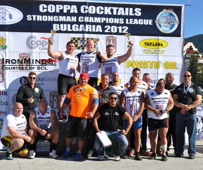 SCL–Bulgaria was won by Rafal Koblarz, possibly a strongman star of the future.  IronMind® | Photo courtesy of SCL.