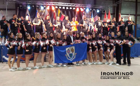 Group photo from SCL–Canada.  IronMind® | Courtesy of SCL.