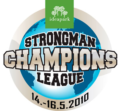 Strongman Champions League is coming to Ideapark in 2010.  IronMind® | Artwork courtesy of Ilkka Kinnunen/SCL