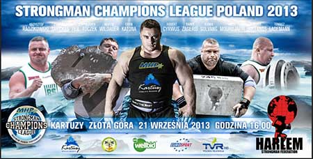 MHP Strongman Champions League will be in Kartuzy, Poland this weekend, so if can be there on Saturday at 16.00 (4:00 pm), you will have a chance to see some of the world's top strongman competitors live and up close.  IronMind® | Image courtesy of SCL
