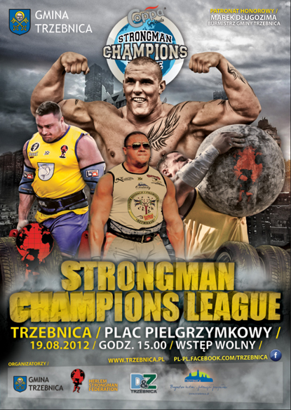 Trzebnica (near Wroclaw) will be the host of the SCL–Poland competiton this Sunday, August 19.  IronMind® | Image courtesy of SCL.