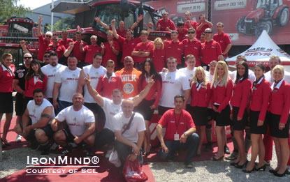 Group photo from Strongman Champions League Serbia 2011.  IronMind® | Courtesy of SCL.