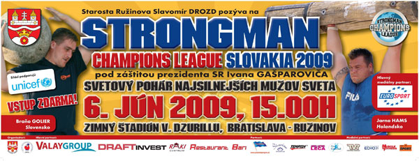 This coming Saturday, Strongman Champions League is bringing a top strongman contest to Bratislava, Slovakia.  IronMind® | Artwork courtesy of Strongman Champions League.