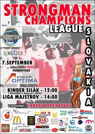 In the tenth stage of its 2013 season, MHP Strongman Champions League is coming to Slovakia this weekend.  IronMind® | Courtesy of SCL