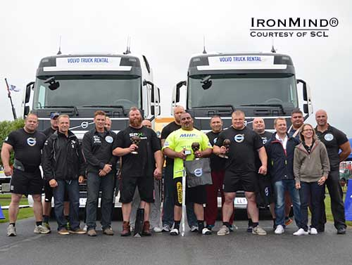 Challenging conditions greeted the first ever Strongman Champions League Truck Pull World Championships yesterday—Ervin Katona prevailed, claiming the title.  IronMind® | Photo courtesy of SCL.