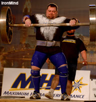 Brian Siders got off to an impressive start in strongman, making his debut at the 2005 Arnold. IronMind® | Randall J. Strossen, Ph.D. photo.