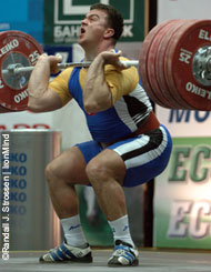 You might not get as strong as Bunyami Sudas (Turkey), who cleaned and jerked 227.5 kg in the 105-kg category at the 2005 European Weightlifting Championships (Sofia, Bulgaria), but if you follow Jim Schmitz's advice, chances are that you'll get a lot stronger than you are. IronMind® | Randall J. Strossen, Ph.D. photo.