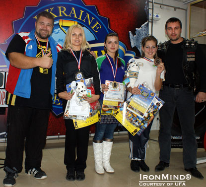 The Ukrainian Federation of Armlifting makes competition on the Rolling Thunder fun, challenging and open to all.  IronMind® | Courtesy of UFA.