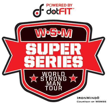 World Strong Man Super Series (WSMSS) will be holding a contest in Bucharest this coming Saturday.  IronMind® | Artwork courtesy of WSMSS.