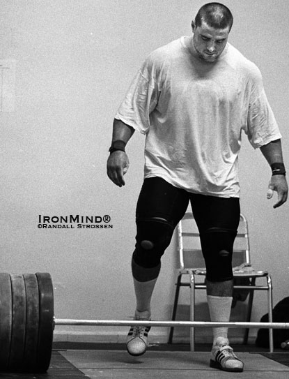 Guess who's coming to eat your lunch?  Say hello to Yani Marchokov (aka Jaber Saeed Salem).  IronMind® | Randall J. Strossen photo.