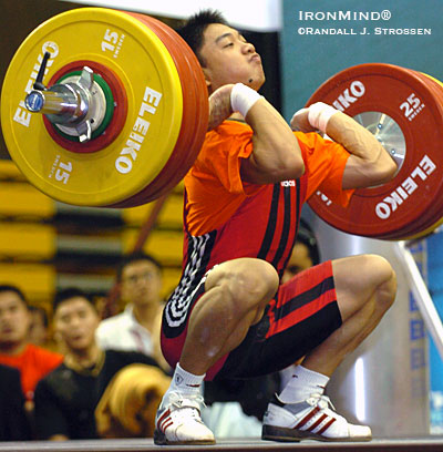 Zhang Jie and Lu Changliang Lifting at the Arnold