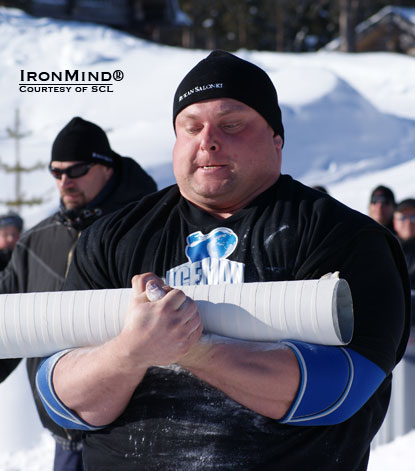Zydrunas Savickas—the only man to have won all of the world's major strongman titles—is the defending champion at IceMan II.  IronMind® | Courtesy of SCL.