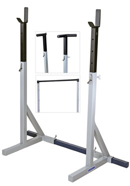 Vulcan Racks III System Squat Racks:  the world's most famous squat racks.