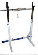Vulcan Racks III Base Unit With Wrist Roller Axle and Setup